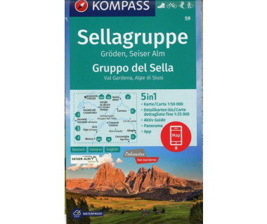 K 59 Sellagruppe/Gruppo del Sella
