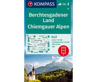K 14 Berchtesgadener Land, Chiemgauer Alpen
