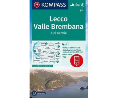 K 105 Lecco, Valle Brembana, Alpi Orobie