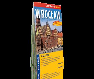 Wrocław plan laminowany