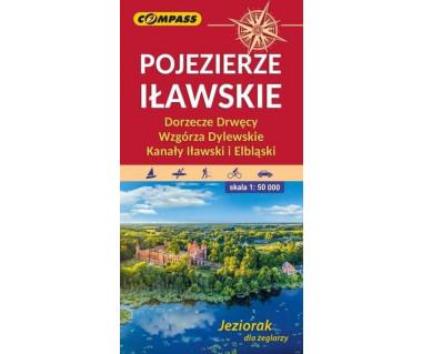 Pojezierze Iławskie, Wzgórza Dylewskie, Kanały Iławski i Elbląski