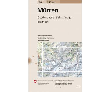Murren - Mapa turystyczna