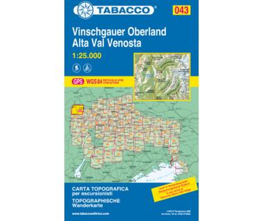 TAB043 Alta val Venosta/Vinschgauer Oberland