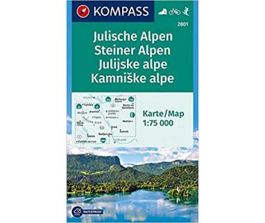 K 2801 Julische Alpen, Steiner Alpen