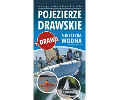 Pojezierze Drawskie - turystyka wodna (2 mapy+ przewodnik)