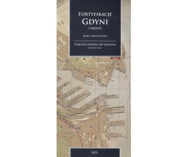 Fortyfikacje Gdyni i okolic mapa turystyczna