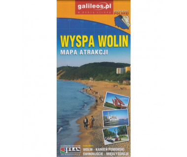Wyspa Wolin mapa atrakcji