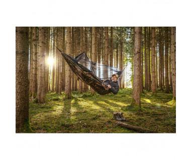 Hamak Traveller Explorer Forest Camo z moskitierą
