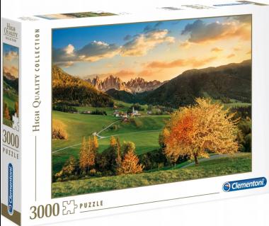 Puzzle 3000 HQ Santa Maddalena - Dolomites