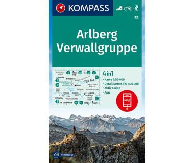 K 33 Arlberg Verwallgruppe