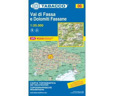 TAB06 Val di Fassa e Dolomiti Fassane