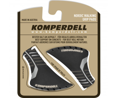 Nakładki gumowe Nordic Walking Pad 12mm black/silver