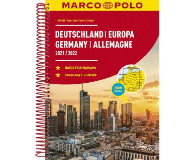 Deutschland, Europa atlas