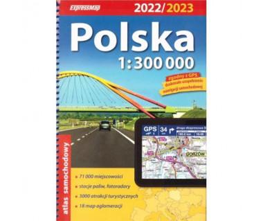 Polska atlas samochodowy 2022/2023