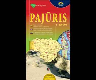 Pajuris (Litwa zach.) - Mapa