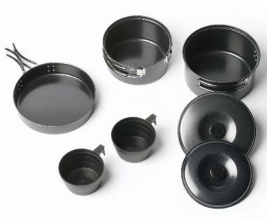 Zestaw naczyń stalowych Non-Stick Cook Kit 2 Person