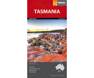 Tasmania Handy Map