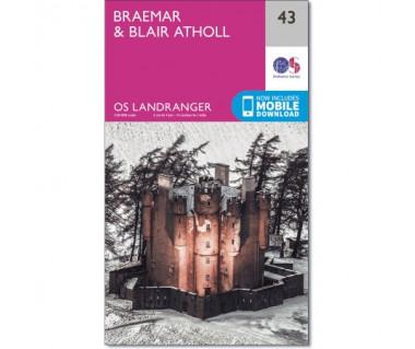 Braemar & Blair Atholl  - Mapa