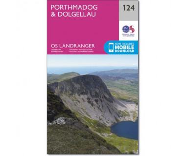 Porthmadog & Dolgellau  - Mapa