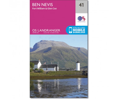 Ben Nevis Fort William & Glen Coe  - Mapa