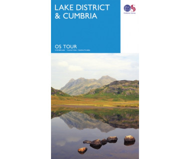 Lake District & Cumbria - Mapa
