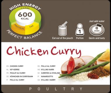 Potrawa AF Kurczak curry  600kcal (1 porc.)