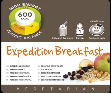Potrawa AF Śniadanie wyprawowe vege  600kcal (1 porc.)