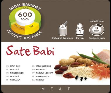 Potrawa AF Ryż z szynką w sosie satay  600kcal (1 porc.)