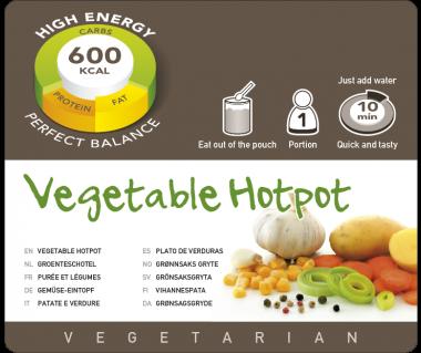 Potrawa AF Kociołek wegetariański  600kcal (1 porc.)