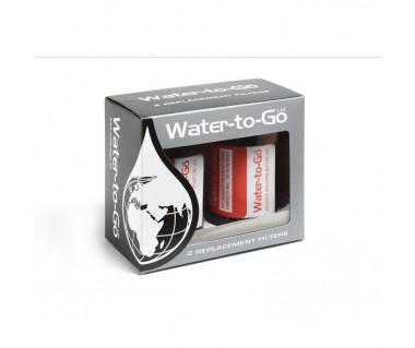 Filtr do butelki Water-to-Go 0.75 l (dwupak)