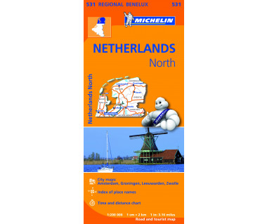 Netherlands North - Mapa