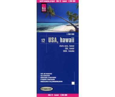 USA Hawaii (12) - Mapa wodoodporna