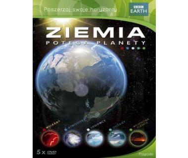 Ziemia. Potęga planety (box 5xDVD)
