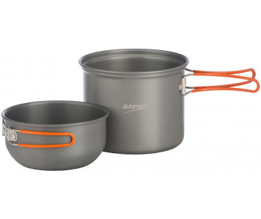 Zestaw naczyń alu Hard Anodised Cook Kit 1 Person