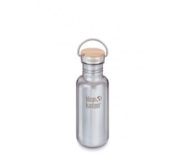 Butelka stalowa Kanteen Reflect z nakrętką Bamboo Cap 532 ml