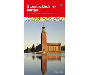 Stockholmskartan/Stockholm and great surroundings