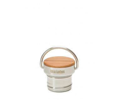 Nakrętka Kanteen Classic Bamboo Cap k:brushed stainless