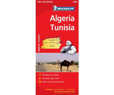 Algeria, Tunisia (M 743)